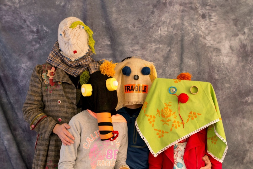Masked Family Portraits